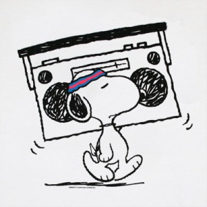 Snoopy_Radio_White_Shirt
